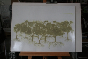 Carborundum forest plate 2