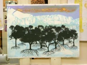 1305 dark trees