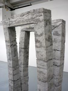 Yana Naidenov - rammed paper pulp
