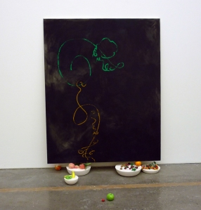 Zoe De Soumagnat - Black Painting. tasty