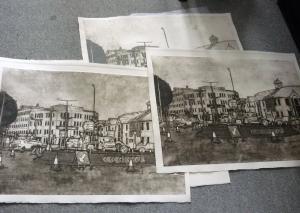Collagraph Prints