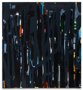 Caleb Taylor  Space Gate I - Pull 2012 Oil and acrylic on canvas