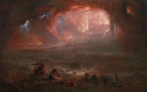 John Martin - The Destruction of Pompeii and Herculaneum