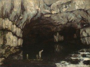Gustave Courbet - La Grotte de la Loue