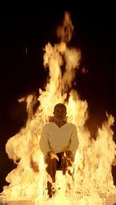 Bill Viola - Fire Martyr