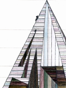 Mary Yacoub Proposal for Modernist Teepee in Poured Concrete