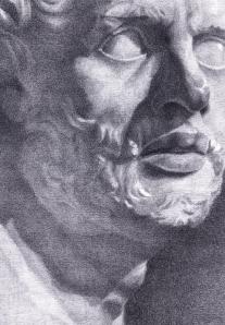 Patrick Jackson Companion of Odysseus, Fleeing the Blinded Polyphemus