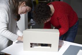 RCA Printmaking MA 2015 collaboration Lean To