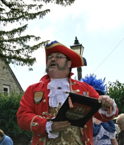 Widecombe Fair Town Cryer competition