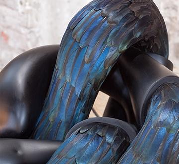 1601 Glasstress Kate MccGuire Maelstrom