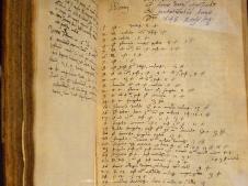 1602 John Dee note book