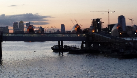1602 Thames Barrier
