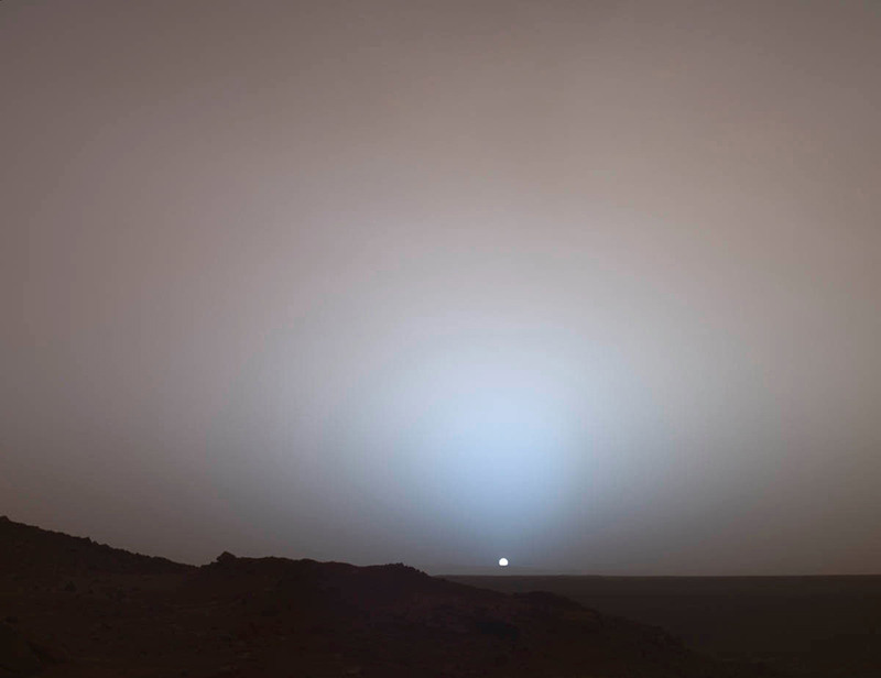 1605 Mars sunset
