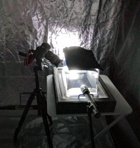 1704 Cloud Chamber setup
