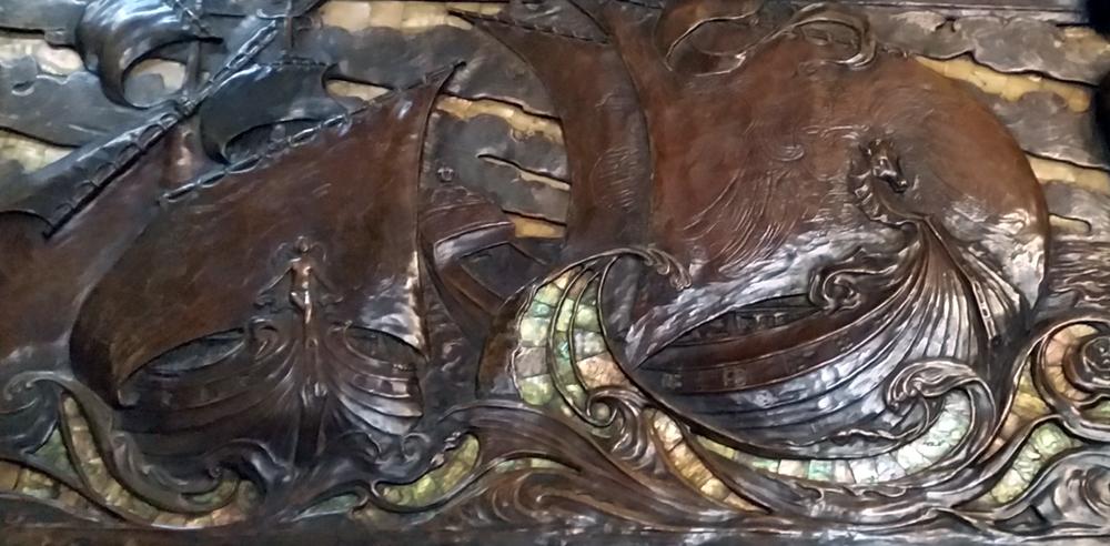 1710 Lloyds Register bronze Frieze