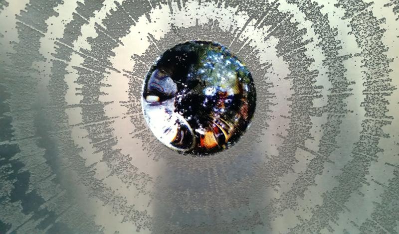 1710 screenprint on aluminium