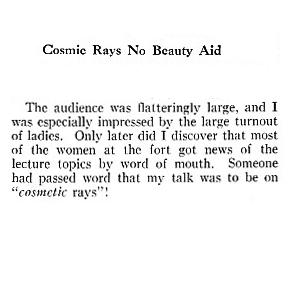 1804 1953 Cosmetic Rays
