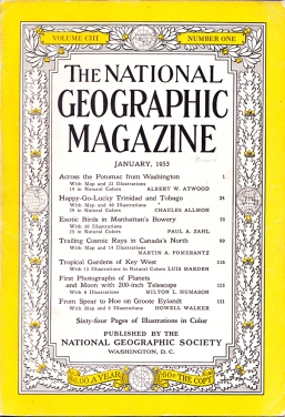 1804 1953 National Geographic