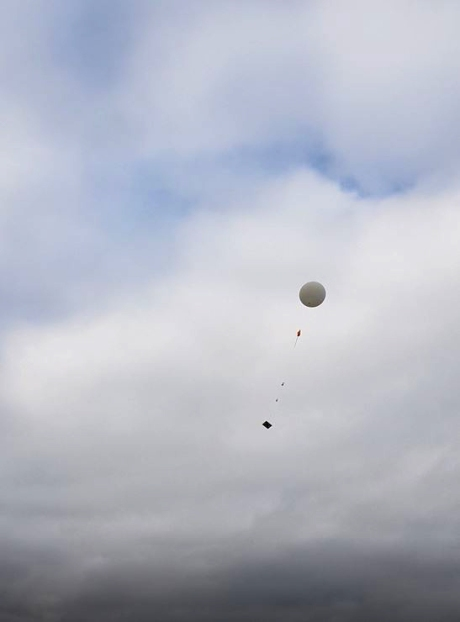 1808 UKHAS Balloon launch 4