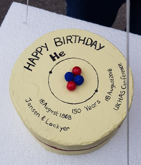 1808 UKHAS Balloon launch cake