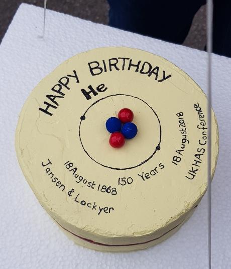 1808 UKHAS Balloon launch cake