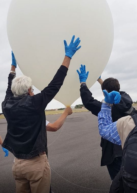 1808 UKHAS Balloon launch