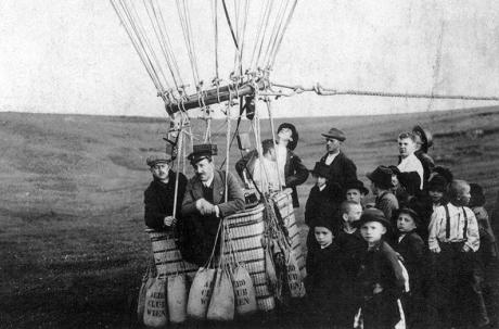 1810 Victor Hess balloon