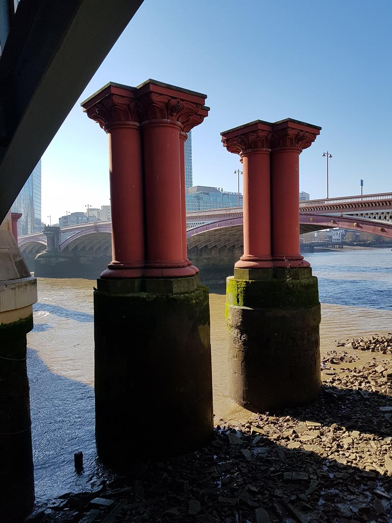 1902 mattering walk bridge pillars
