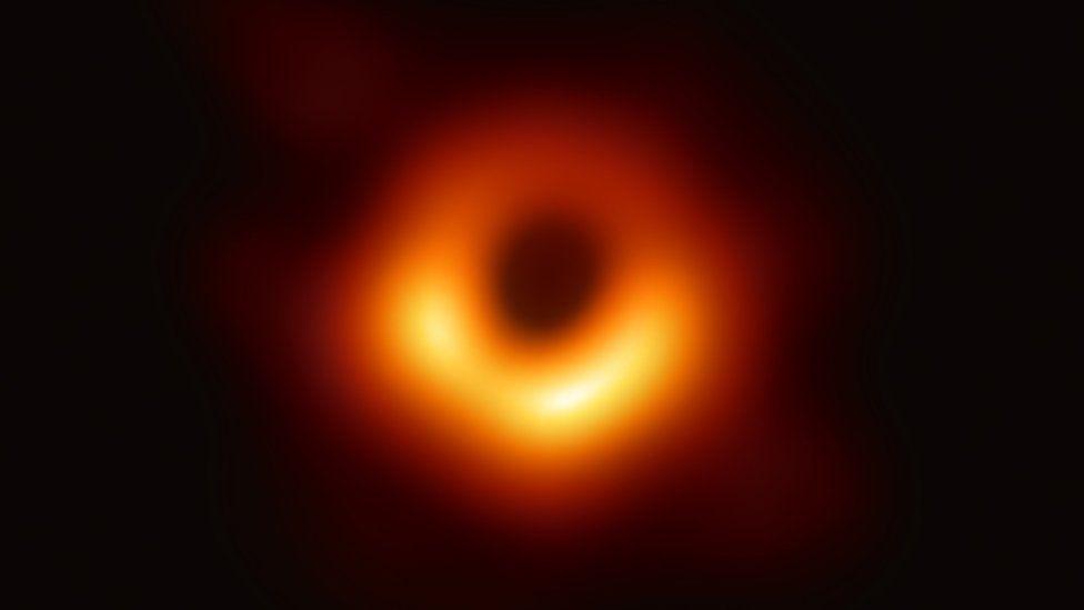 1904 Black hole image