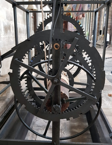1905 oldest working clock