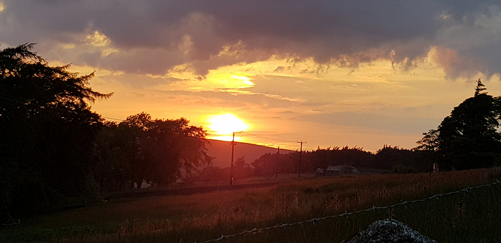 1906 solstice sunset
