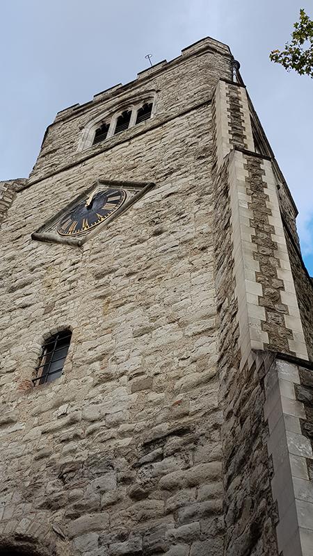 1909 Baetylus installed St Augustines Tower