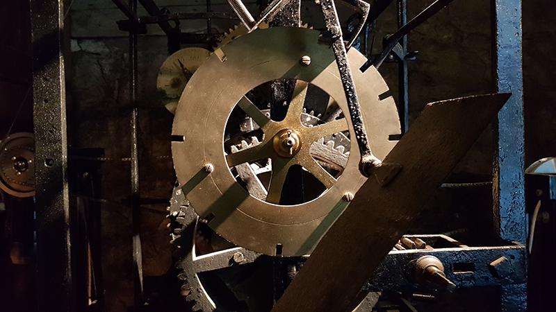 1909 St Augustines Tower Clock