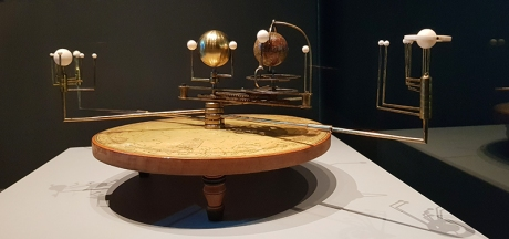1912 Moon Exhibition orrery