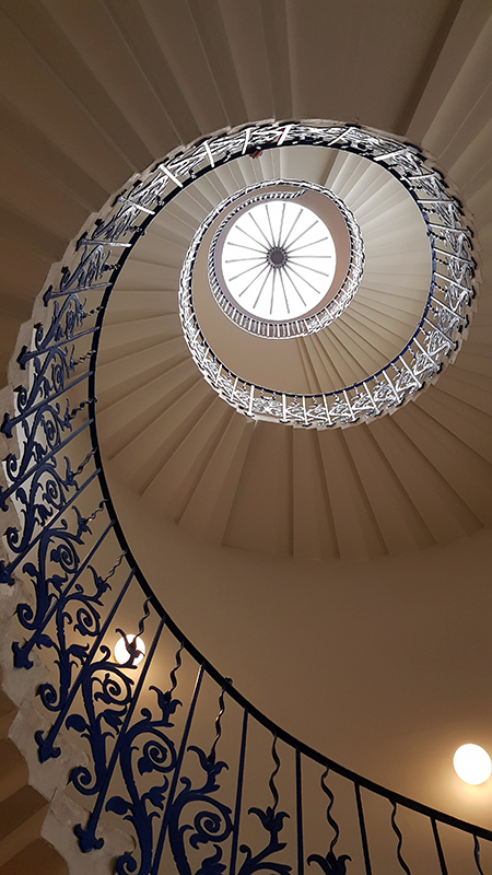 1912 Queen's House Tulip Staircase