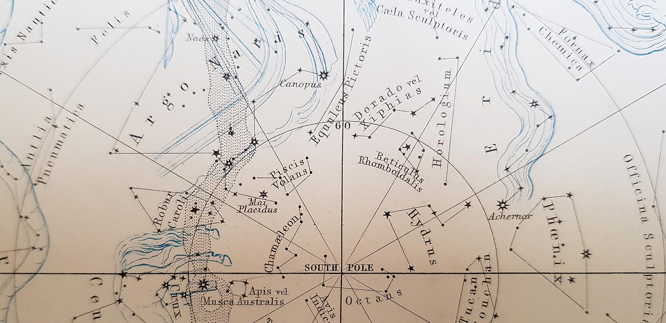 2002 star map Argo Navis